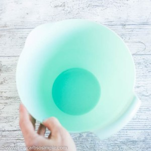 A Medium Bowl   Low-Carb, So Simple