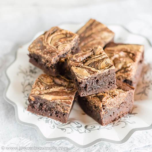 4-Ingredient Keto Peanut Butter Brownies | Low-Carb, So Simple