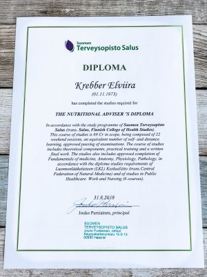 Certified Nutritional Adviser Diploma   Low-Carb, So Simple