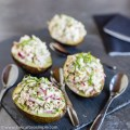 Stuffed Avocados with Creamy and Crunchy Chicken Salad | Low-Carb, So Simple
