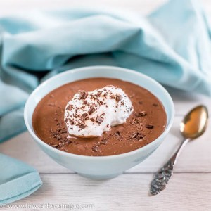 Chocolaty Floating Islands   Low-Carb, So Simple
