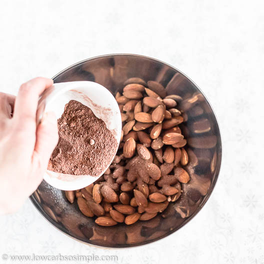 Pouring the Cacao Mix | Low-Carb, So Simple