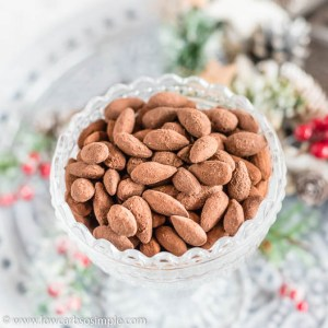Chocolaty Roasted Almonds | Low-Carb, So Simple