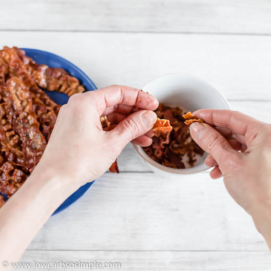 Crumbling Bacon | Low-Carb, So Simple
