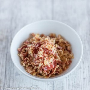 Crumbled Bacon | Low-Carb, So Simple