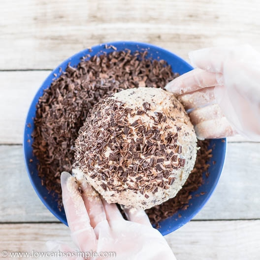 Rolling in Grated Chocolate   Low-Carb, So Simple