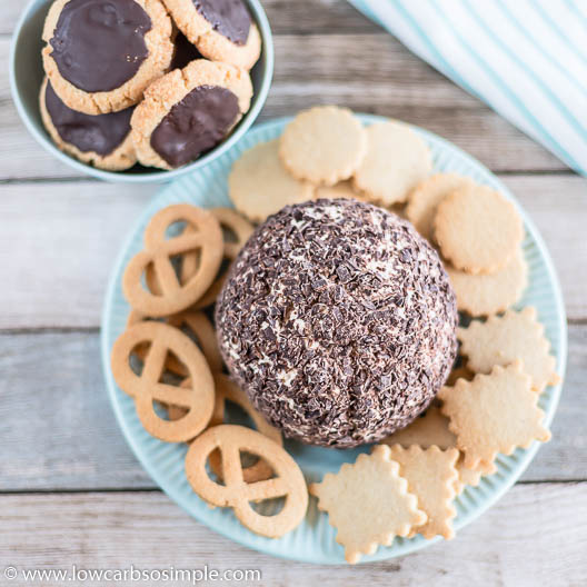 Low-Carb Chocolate Chip Cheese Ball   Low-Carb, So Simple