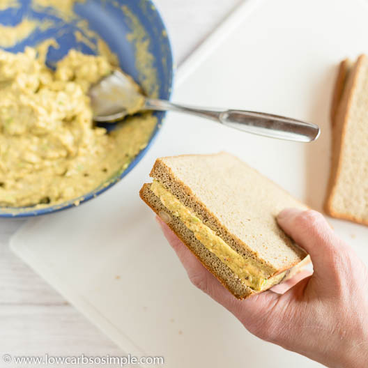Ready Large Sandwich | Low-Carb, So Simple