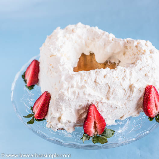 Amazingly Airy 5-Ingredient Keto Angel Food Cake | Low-Carb, So Simple