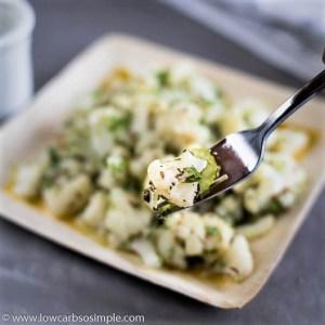 Caraway-Kissed Cauliflower Salad | Low-Carb, So Simple