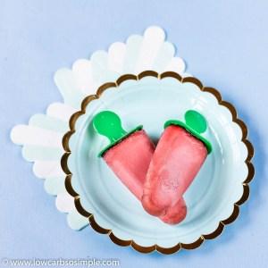 Lemon Zinger Keto Iced Tea Popsicles | Low-Carb, So Simple