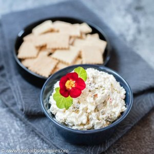 Cream Cheese Olive Spread or Dip -- 2 Ways | Low-Carb, So Simple