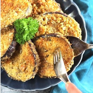 Easy Fried Keto Eggplant | Low-Carb, So Simple