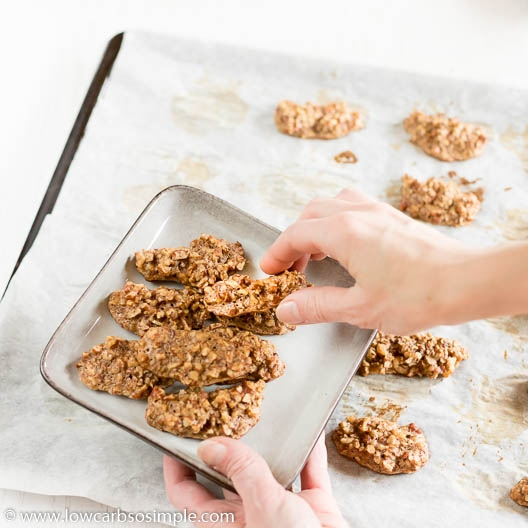 Removing from the Baking Sheet | Low-Carb, So Simple
