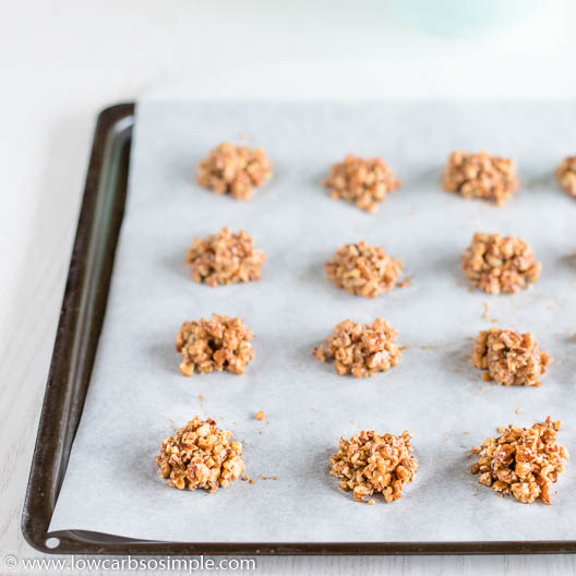 Mounds on Baking Sheet | Low-Carb, So Simple