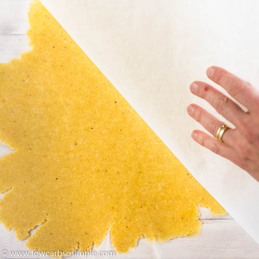 Removing Parchment Paper | Low-Carb, So Simple