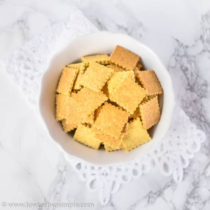 Easiest Curry Parmesan Crackers | Low-Carb, So Simple
