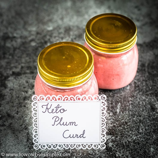 Keto Plum Curd | Low-Carb, So Simple