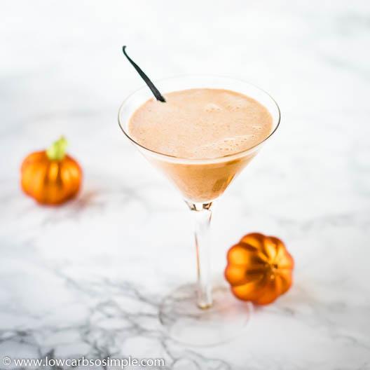 Keto Pumpkin Pie Martini | Low-Cab, So Simple