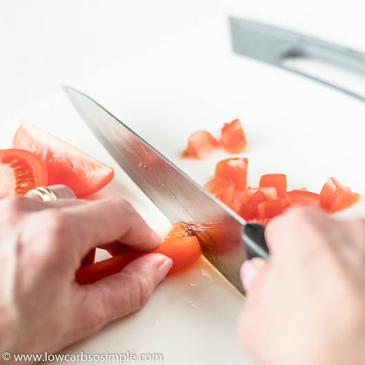 Dicing Tomatoes | Low-Carb, So Simple