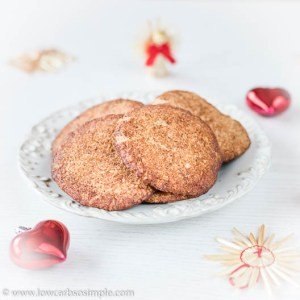 5-Ingredient Keto Snickerdoodles | Low-Carb, So Simple