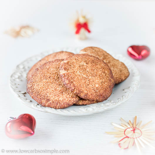 5-Ingredient Keto Snickerdoodles