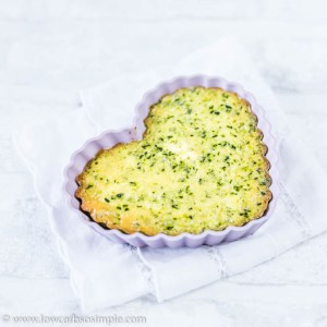 Heart-Shaped Mini Quiche | Low-Carb, So Simple