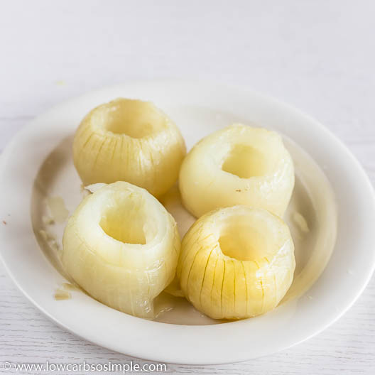 Hollowed Onions | Low-Carb, So Simple