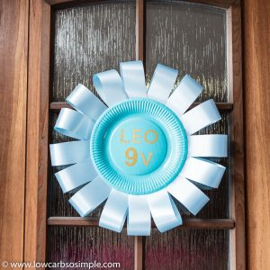 Homemade Door Decoration | Low-Carb, So Simple