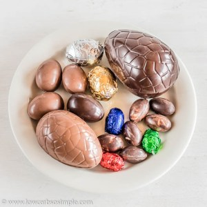 Sugar-Free Chocolate Eggs   Low-Carb, So Simple