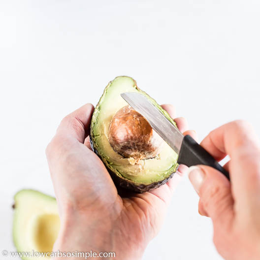Removing the Pit from Avocado | Low-Carb, So Simple