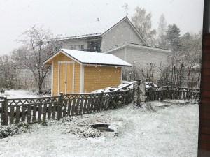Lunta toukokuussa