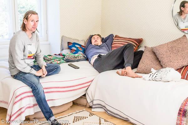 Olli ja Jukka Relaxing