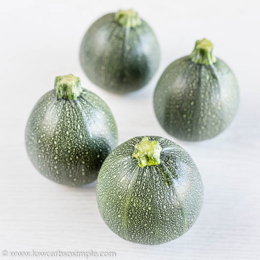 4 Round Zucchini   Low-Carb, So Simple