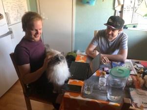 Frieda, Olli ja Markus