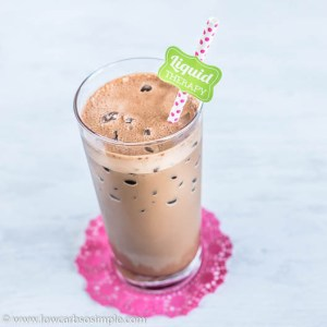 Keto Iced Power Mocha | Low-Carb, So Simple