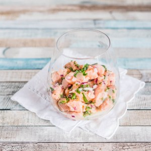 5-Ingredient Salmon Ceviche   Low-Carb, So Simple