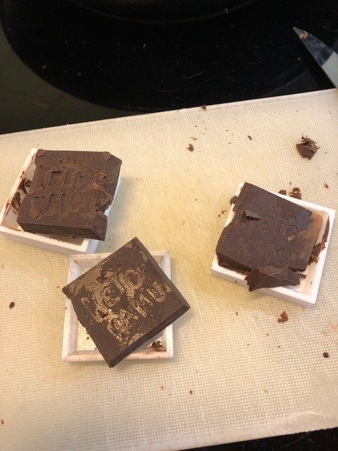 Chocolate Mold Fail