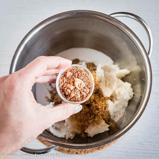 Adding Pumpkin Pie Spice | Low-Carb, So Simple