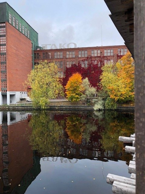 Syksyinen Tampereen keskusta