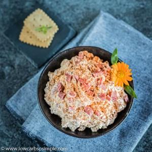 Scrumptious Salami Spread Low-Carb, So Simple