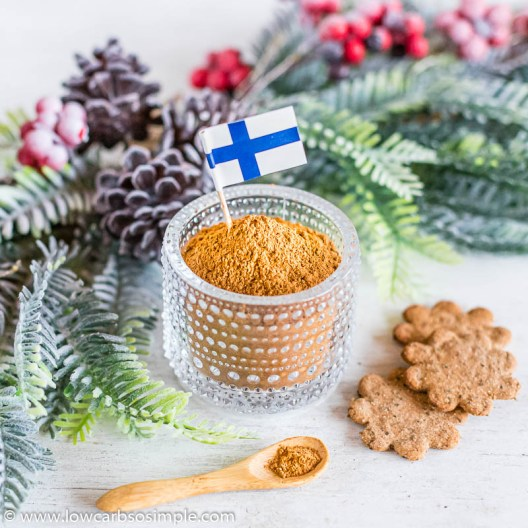 Authentic Finnish Gingerbread Spice Mix | Low-Carb, So Simple