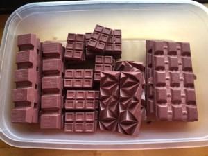 Suklaakokeiluja