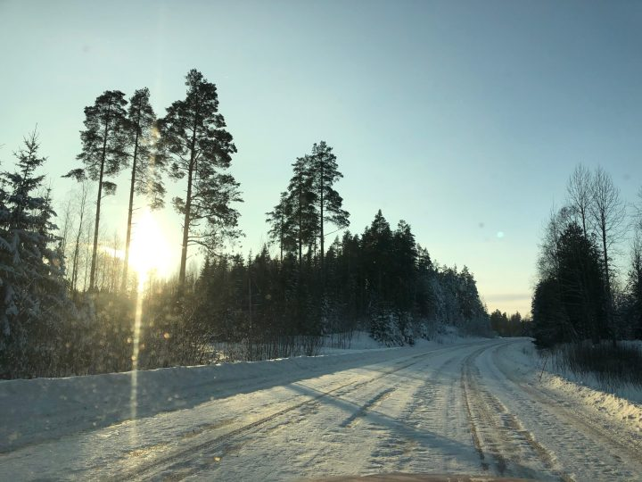 Talvea ja aurinkoa