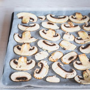 More Mushroom Slices | Low-Carb, So Simple