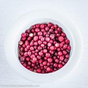 Frozen Cranberries | Low-Carb, So Simple