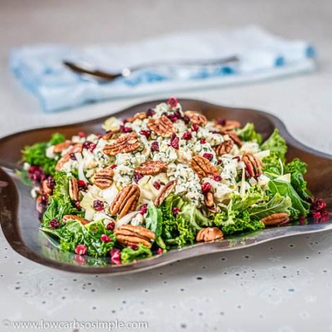 Satisfying 5-Ingredient Wintertime Salad 4 Two | Low-Carb, So Simple