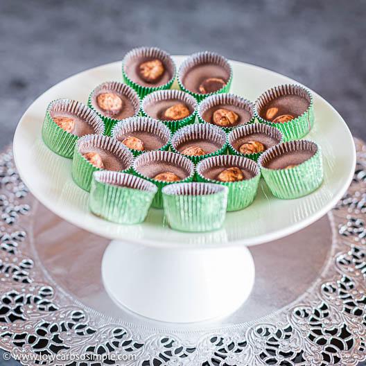 Divine Chocolate Hazelnut Keto Treats | Low-Carb, So Simple