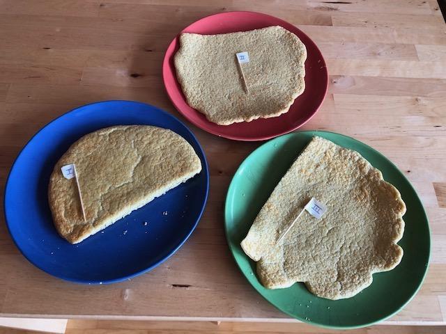 Keto Baking Mix Experiments, Flatbreads