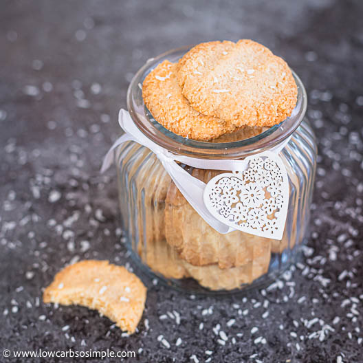 5-Ingredient Keto Coconut Shortbread Cookies | Low-Carb, So Simple